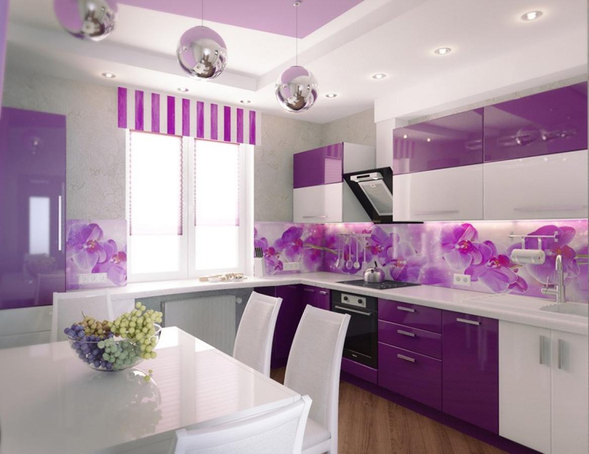 Кухня на заказ Фиола фотография