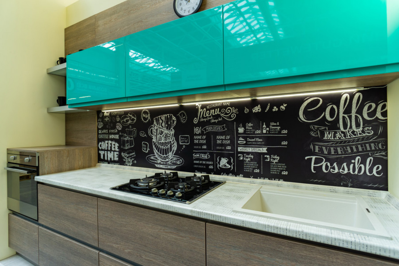 Кухня на заказ Бурин фотография