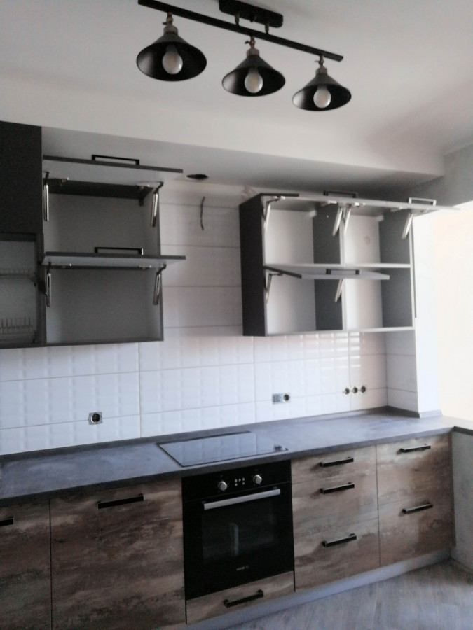 Кухня на заказ иcландский дуб фотография