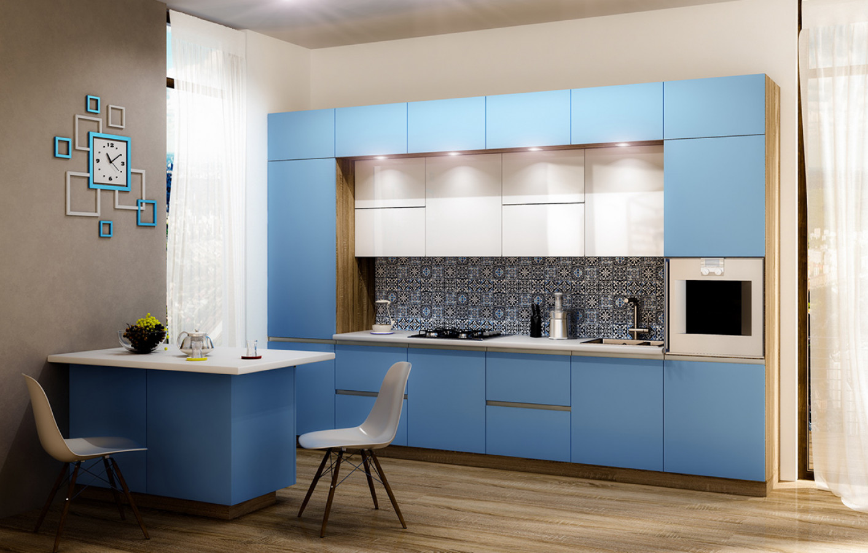 Кухня на заказ Fuxia фотография
