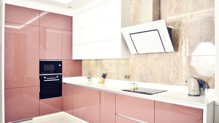 Кухня со столешницей из камня Инглинг