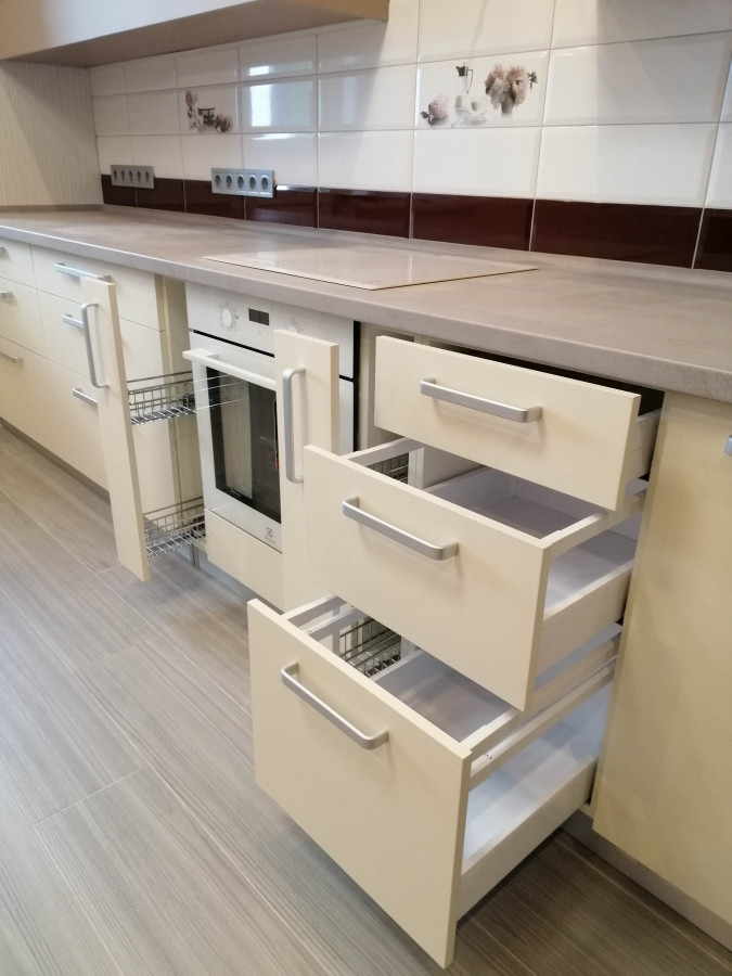 Кухня на заказ Капучино фотография