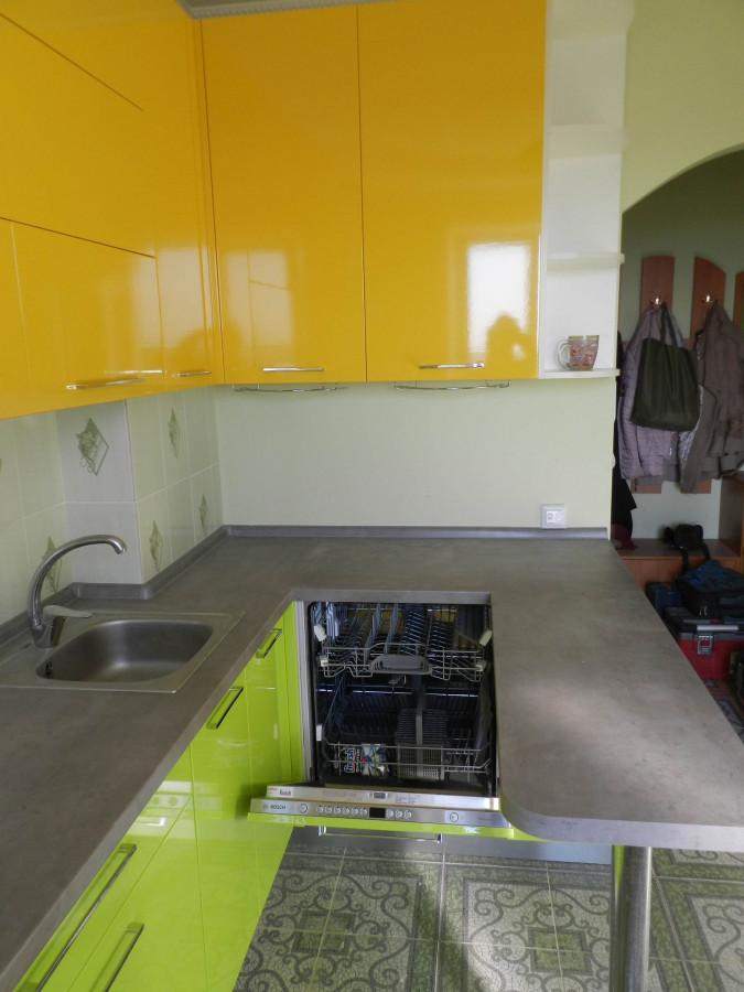Кухня на заказ Лайм фотография