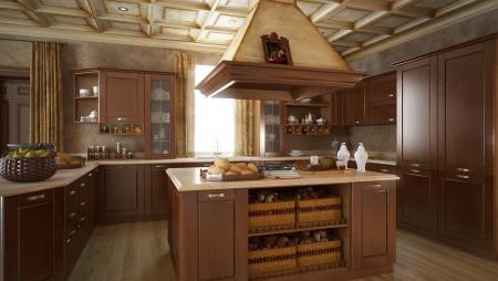 Кухня с островком Malaga