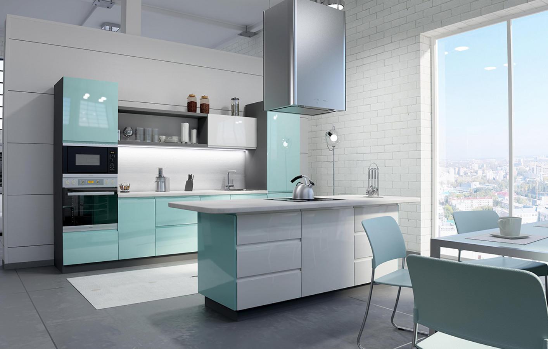 Кухня на заказ Breeze фотография