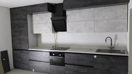 Двухрядная кухня на заказ  Кухня на заказ Годелив