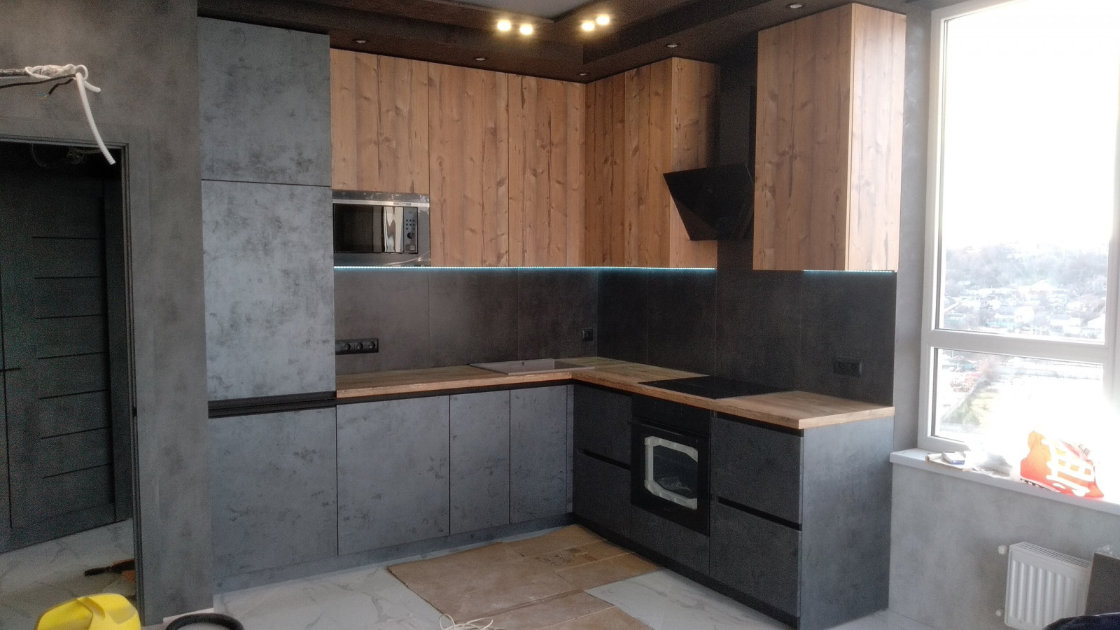 Кухня на заказ Мерет фотография