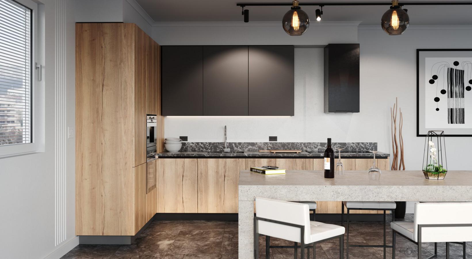 Кухня на заказ Rosso2 фотография