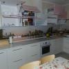Кухня розовая с белым