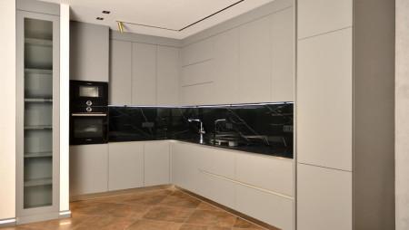 Кухня в два уровня под заказ Сумарлитр