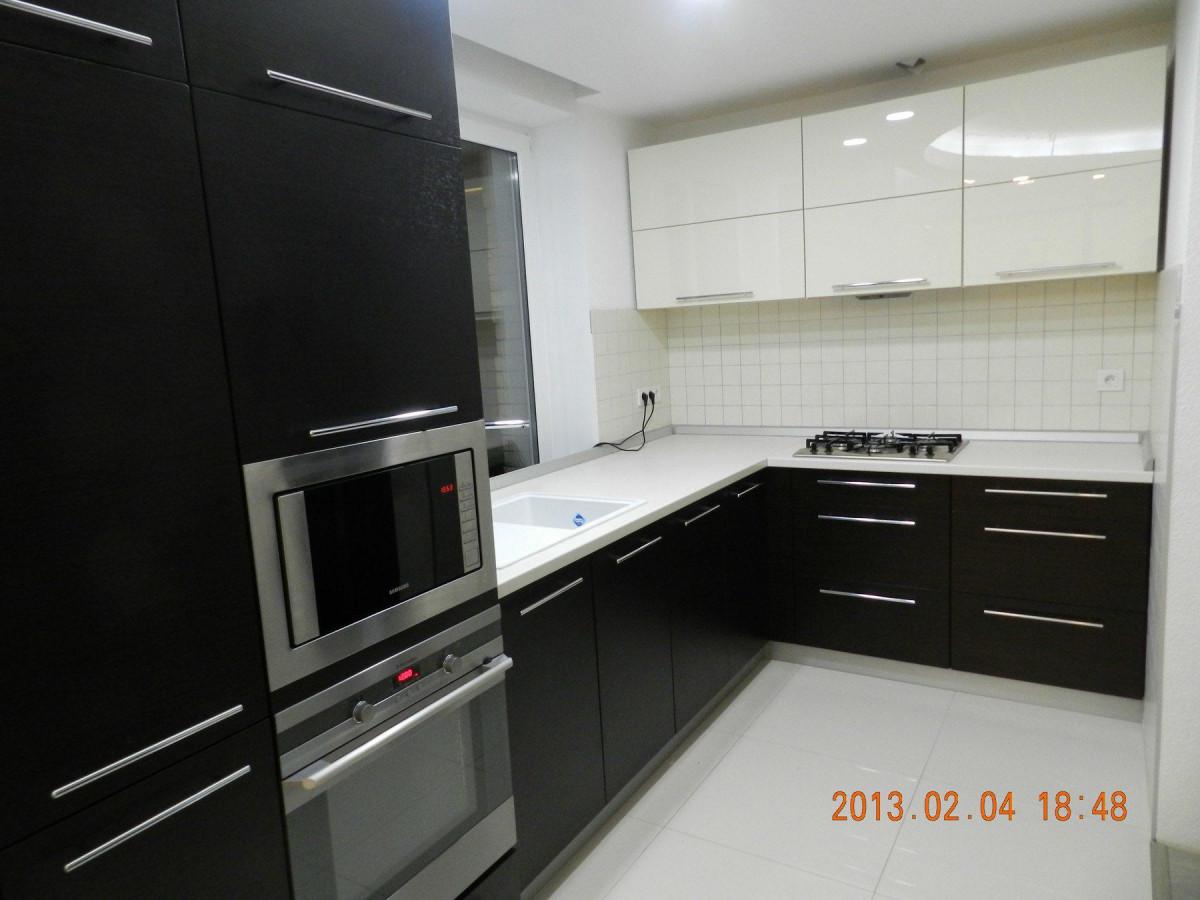 Кухня на заказ Венге фотография